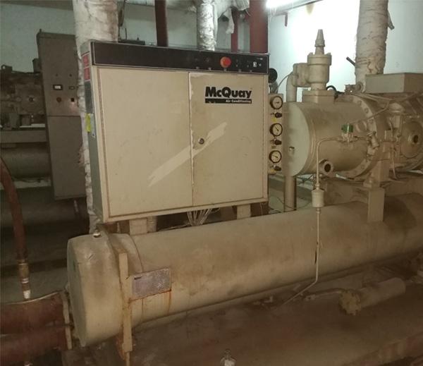 中央空调主机清洗