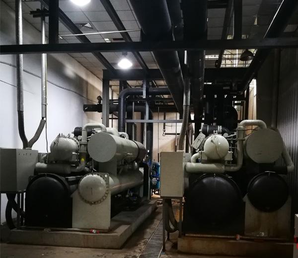 主机冷凝器清洗