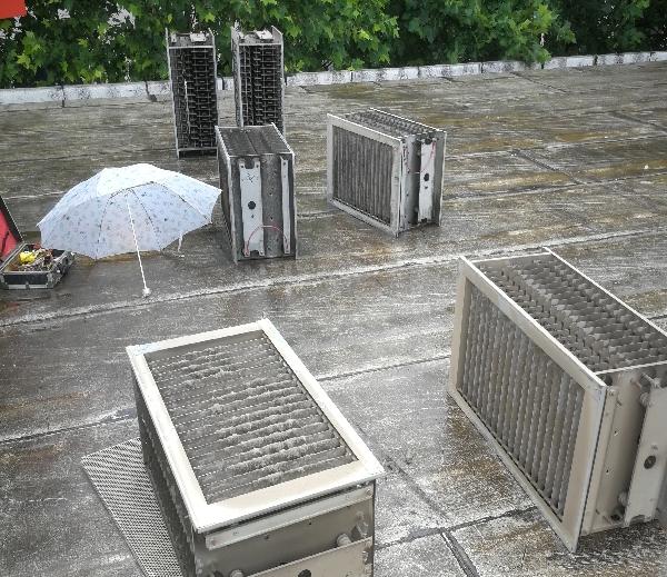 石家庄别墅小型中央空调清洗